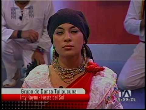 ECUADOR DANZA Y FOLKLORE, TULLPUCUNA