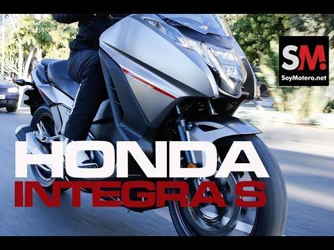 Prueba Scooter: Honda Integra S 2016