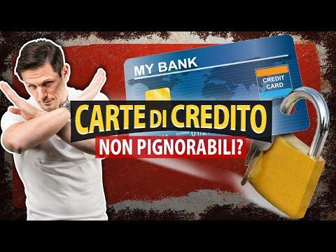 Esistono CARTE DI CREDITO NON PIGNORABILI? | Avv. Angelo Greco