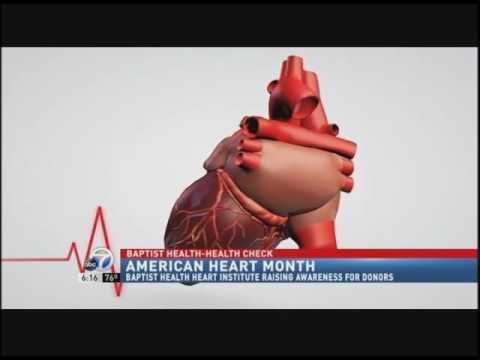 Baptist Health Heart Institute Raises Awareness for Heart Organ Donors