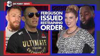 Tony Ferguson's Wife Files For Restraining Order