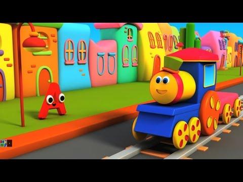 Bob , der Zug - Alphabet Abenteuer | Bob, The Train - Alphabet Adventure