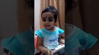 Kid singing Chandana Manivathil song