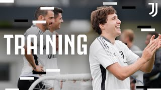 First Team Open Training! ft. The Euro 2020 Champions! | Juventus Training