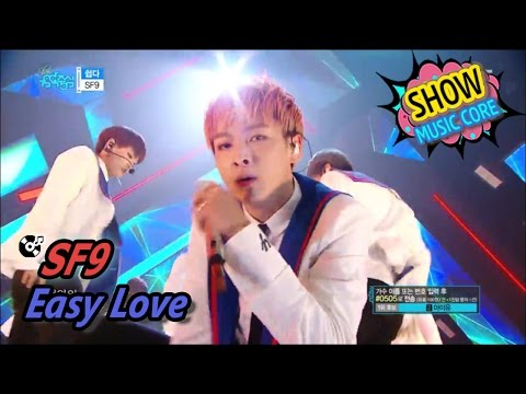 [HOT] SF9 - Easy Love, 에스에프나인 - 쉽다 Show Music core 20170513