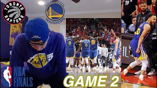 warriors hater emotional reaction to game 2 of the NBA Finals..THIS CANT HAPPEN