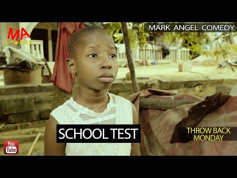 SCHOOL TEST (Mark Angel Comedy) (Throw Back Monday)