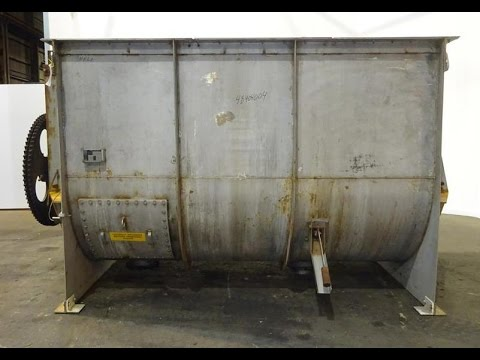 Used- Winbco Tank Company Double Spiral Ribbon Blender - stock # 48404004