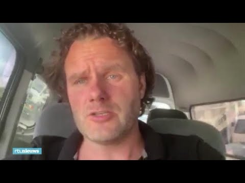 Nederlander David in Sri Lanka: 'Situatie is heftig hier' - RTL NIEUWS