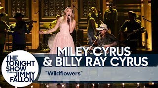Miley Cyrus and Billy Ray Cyrus Pay Tribute to Tom Petty with