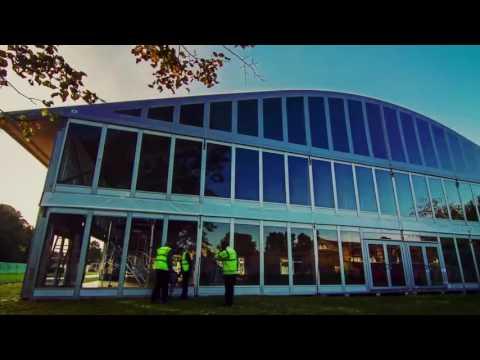 Большие тентовые конструкции Losberger Syon Park London