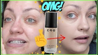 ACTUALLY WORTH THE HYPE!? | YouTube Made Me Buy It!: CYO Long Lasting Lifeproof Foundation