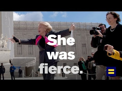 Hillary Clinton's Rousing, Inspiring Tribute to Edie Windsor
