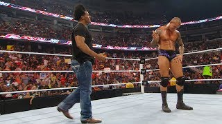 Randy Orton RKOs Wade Barrett, Darren Young, Edge and Sheamus: Raw, Sept. 6, 2010 (WWE Network)