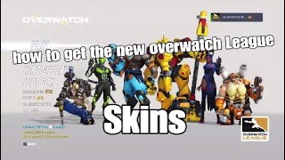 How to get the overwatch League Skins (Explained)