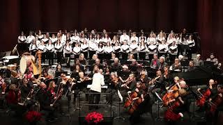 The Brampton Children's Chorus performs Christmas Lullaby