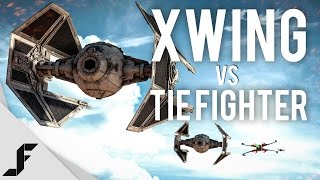 X WING vs TIE-FIGHTER - Star Wars Battlefront Easter Egg