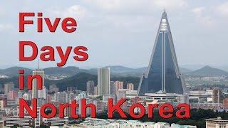 Five Days in North Korea - Pyongyang, DMZ, Dandong train