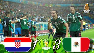Croacia 1-3 México | WC Brasil 2014 | Resumen HD TV Azteca 1080p | MLSMX