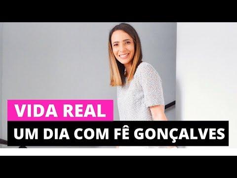 Um dia com a Fê Gonçalves | Vlog Vida Real