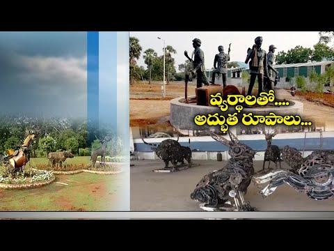 PM Modi hails Prof Srinivas from Vijayawada for creating wonders with metal scrap