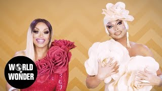 FASHION PHOTO RUVIEW: All Stars 3 Flower Power with Raven and Mariah Balenciaga