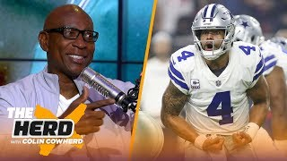 Eric Dickerson on Dak getting blame for Cowboys struggles, Baker Mayfield and more | NFL | THE HERD