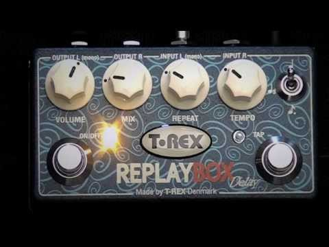 T-Rex Replay Box True Stereo Delay
