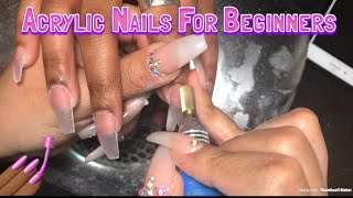 Acrylic Nails For Beginners   Materials Needed To Do Nails
