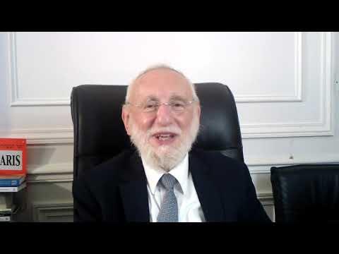La joie, critère du jugement de Roch Hachana! - 2020 (suite et fin) - Rav Gugenheim