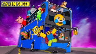 I rode the CRAZIEST BUS ever in Roblox...