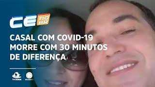 Casal com covid-19 morre com 30 minutos de diferença