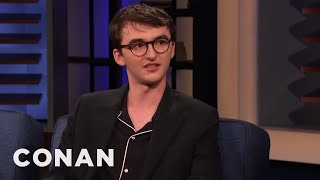 "Isaac Hempstead Wright Can't Remember What Life Was Like Before ""Game Of Thrones"" - CONAN on TBS"