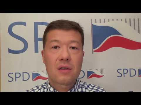 Tomio Okamura: ČR je bez zlatých rezerv