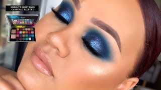 YA BLUE IT OUTTA THE WATER SIS!  Blue Smokey Eye Tutorial | BPerfect X Stacey Marie Carnival Palette