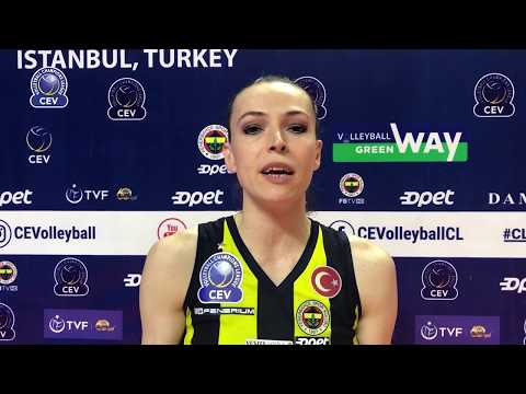 Eda ERDEM DÜNDAR words after the winning match of Fenerbahce Opet ISTANBUL