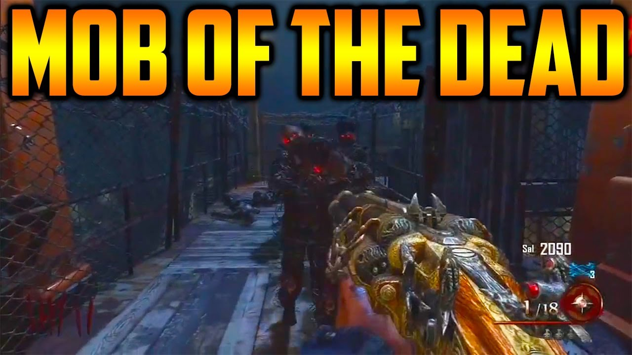 Mob of the dead gameplay bo2 blundergat uprising - Mob of the dead pictures ...