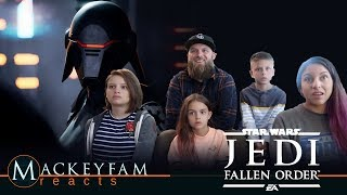 Star Wars Jedi: Fallen Order — Official Reveal Trailer- REACTION and REVIEW!!!