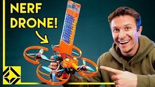 I Built a REAL Nerf Attack Drone!