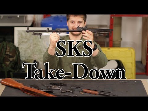 How to Disassemble & Reassemble an SKS. - KGB Survivalist  - 8RQ9c4w0gEI -
