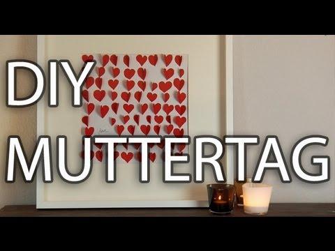 diy muttertag das perfekte geschenk selber machen youtube. Black Bedroom Furniture Sets. Home Design Ideas