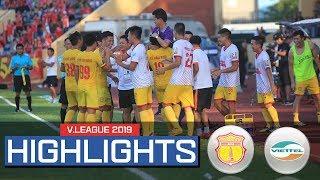 Highlight | DNH Nam Định đánh bại Viettel trên sân Thiên Trường