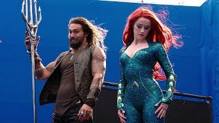 A Match Made In Atlantis 'Aquaman' Behind The Scenes