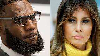 Melania Trump defends LeBron James