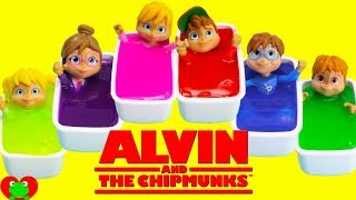 Alvin and the Chipmunks Slime Bath Surprises