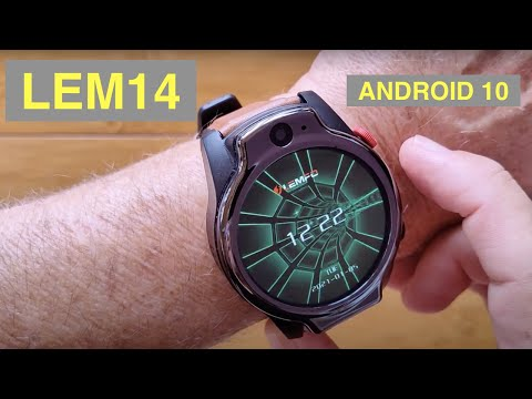 LEMFO LEM14 Android 10 MT6762 Dual Cameras 4GB/64GB Face Unlock 4G Smartwatch: Unboxing and 1st Look
