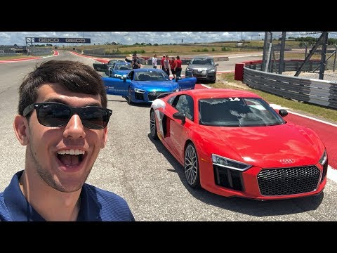 Audi Driving Experience at Circuit of The Americas!