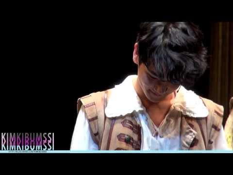 [HD fancam] 140121 Musical The Three Musketeers Curtain call - SHINee KEY (마지막공연)