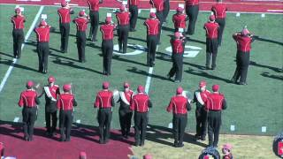 'Halftime Performance (10.8.16) - Pride of the Plains Marching Band