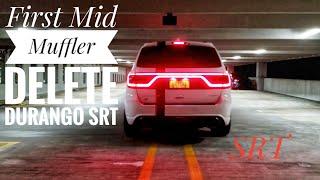 Muffler Delete SRT Dodge Durango Loudness : Launch Control Madness